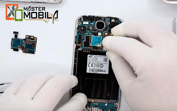 Процедура ремонта SIM / Flash Samsung-Galaxy