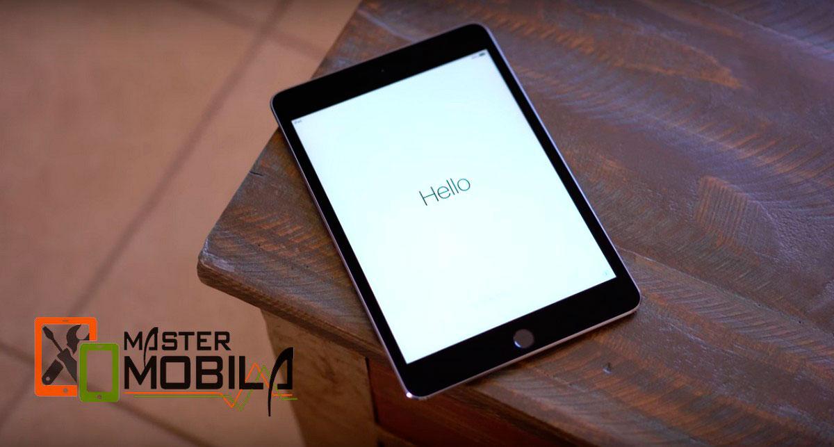 Замена дисплея/экрана на iPad Mini 4