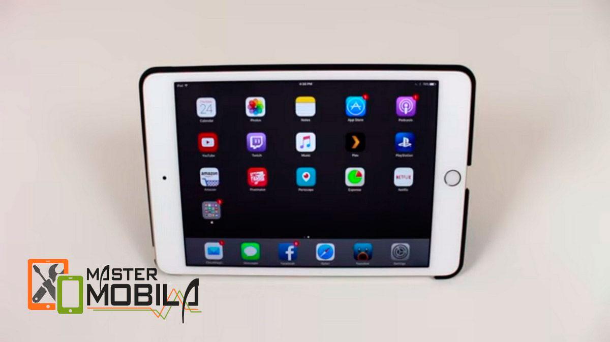 Замена стекла на iPad mini 4