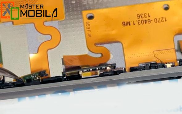Ремонт кнопок на Sony