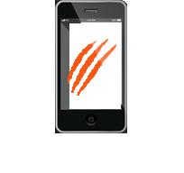 Экран  смартфона, планшета поцарапался, покрылся пятнами
