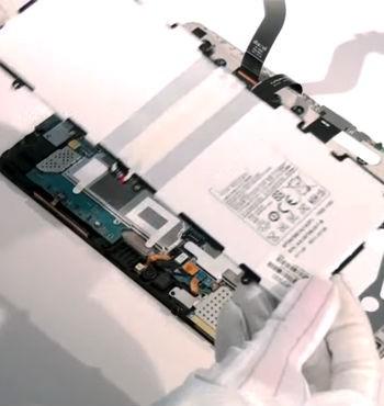 Замена аккумулятора планшет Samsung