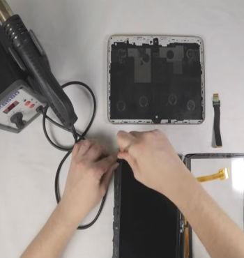 Замена экрана планшет Самсунг