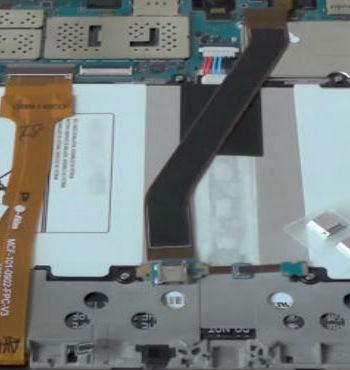 Замена разъема зарядки Samsung Tab