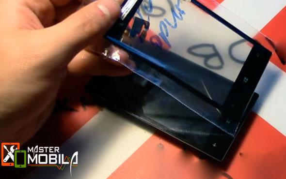 Установка стекла Nokia