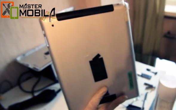 Восстановление задней крышки iPad