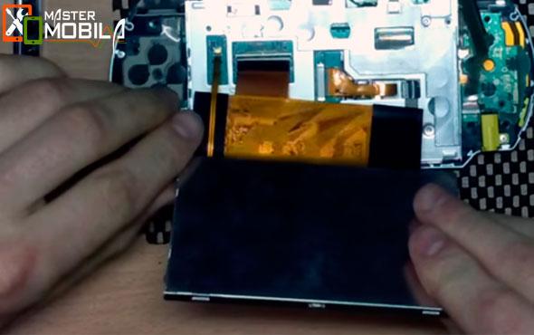 Замена батареи PSP