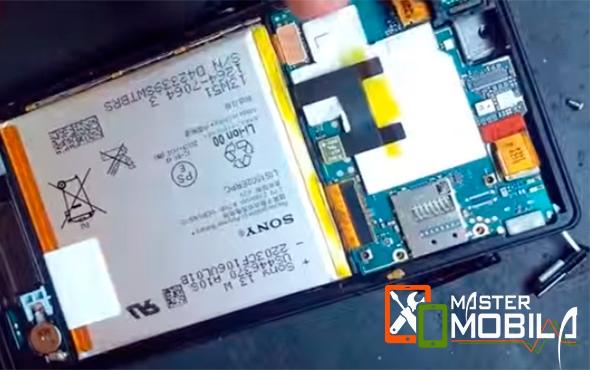 Замена разъёма SIM Sony Xperia