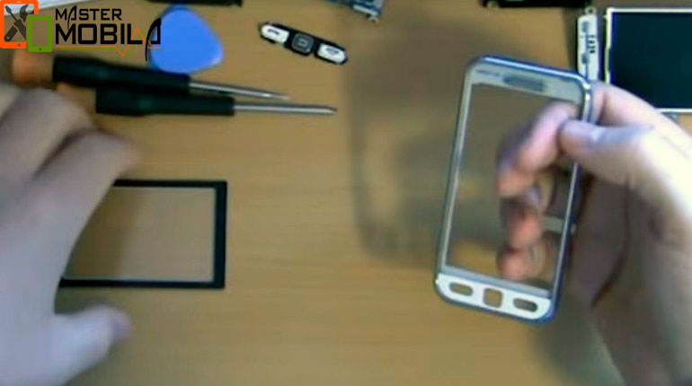 Переустановка экрана Samsung s5230