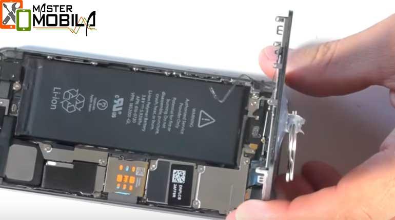 Ремонт кнопки Домой iPhone 5s