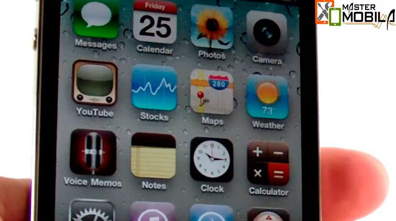 Восстановить iPhone 4