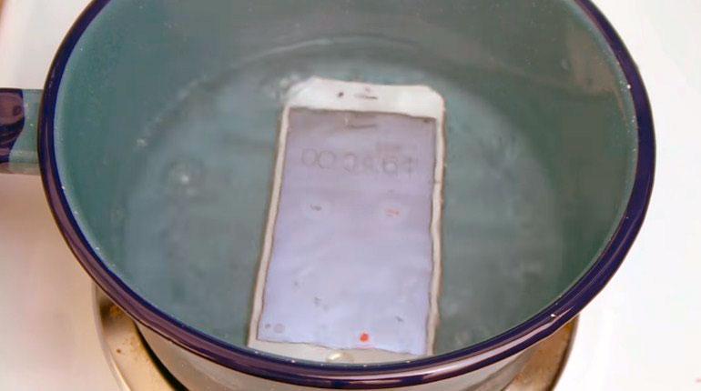 Восстановление после воды iPhone