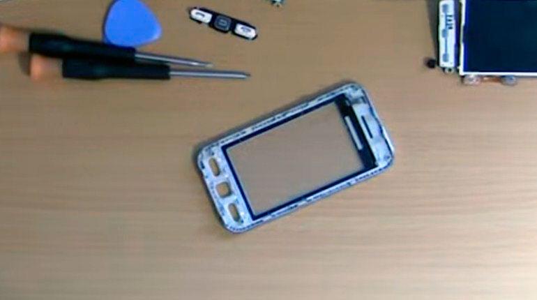 Восстановление экрана Samsung s5230