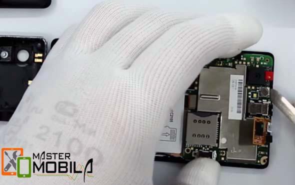 Замена материнской платы Sony Xperia