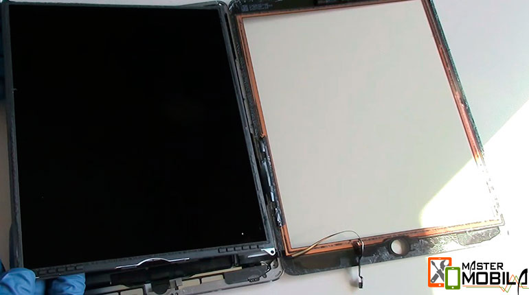 Замена сенсора iPad Air