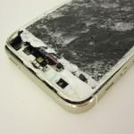 Ремонт разбитого стекла iPhone 5s и экранного модуля