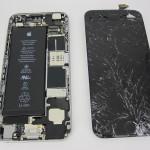 Ремонт разбитого стекла iPhone 6 и экранного модуля