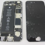 Ремонт разбитого стекла iPhone 6