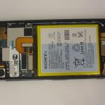Ремонт неисправного аккумулятора Sony Z3